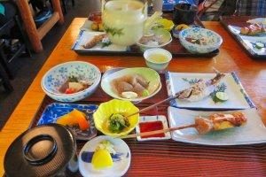 Lunch at Iya Bijin Restaurant