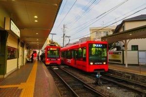 Xe điện Matsuyama