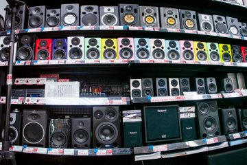 Look for some new speakers in the Audio and Visual floor.