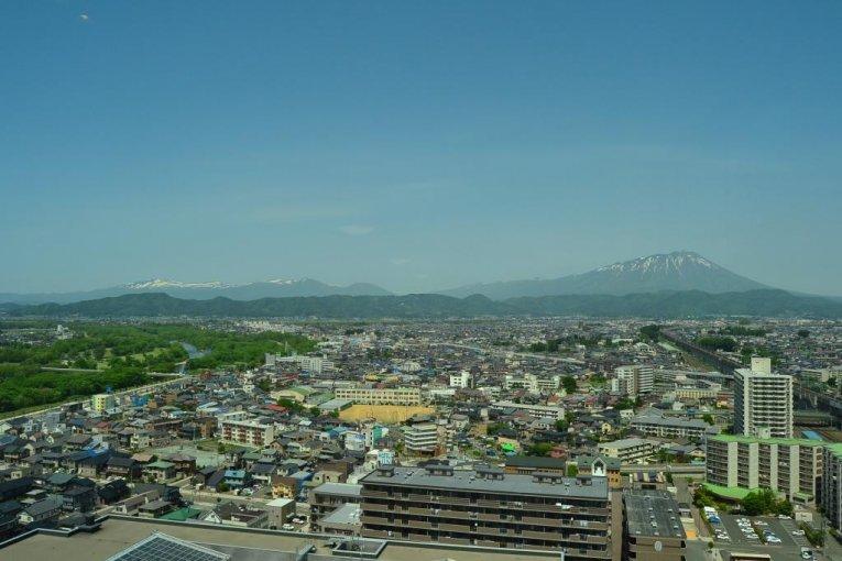 Khung cảnh từ tầng 20 của Mirioka