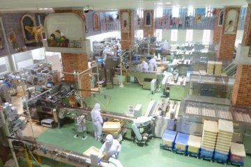 巧克力制作工厂