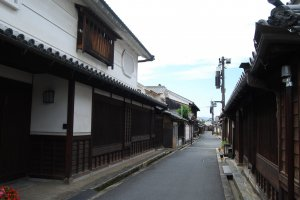 Streets of Imai are quiet