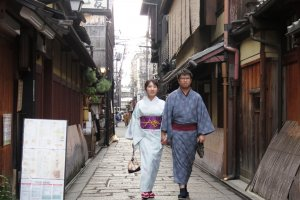 A cooking class in Higashiyama is a must for many honeymooners in Kyoto