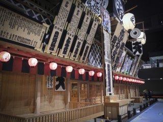 Sebuah bangunan dengan gaya masa Edo