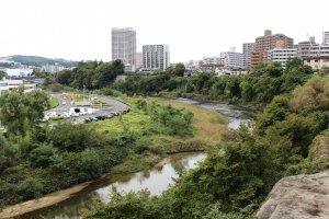 Вид на реку Хироси