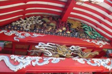 Đền Kasamori Inari tại Matsumoto