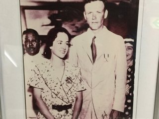 American explorer Charles Lindbergh and his wife Ann.