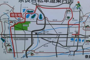 Карта для велосипедистов, район Хэйдзе