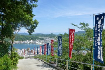 Onomichi is the perfect place to be on a bright sunny day