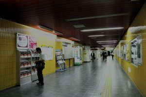 Information and magazine stalls