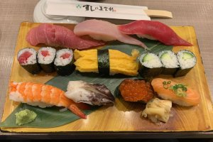My Upper Sushi-Assortment meal