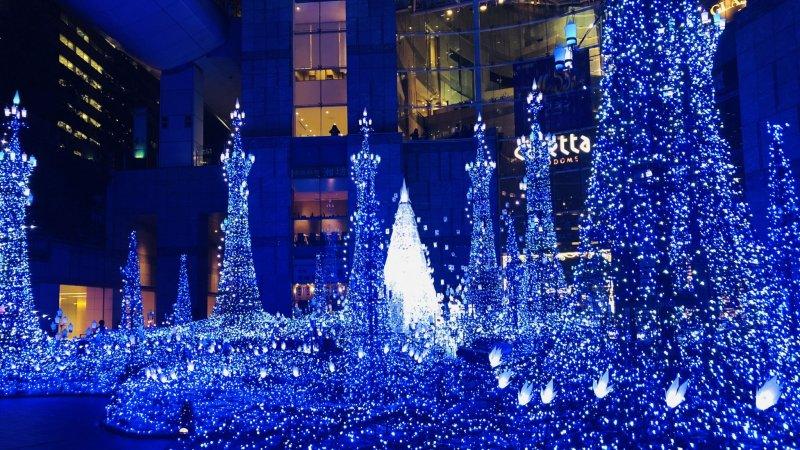 Caretta Illumination的經典藍色燈海