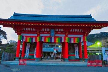 Gate to Manganji Temple