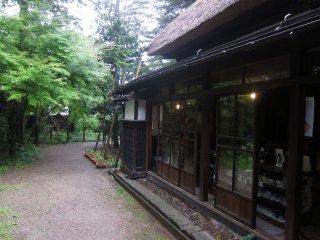 Extérieur de la maison de samouraï à Kakunodate, préfecture d'Akita