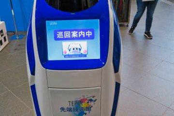 TEPIA Security Robot