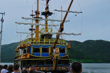 Pirate  Boat on Lake Ashi Hakone