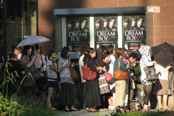 Публика мюзикла - только женского пола!
