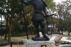 Statue of Oda Nobunaga at Okehazama