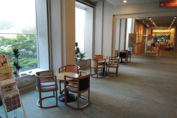 Rest area near the lobby