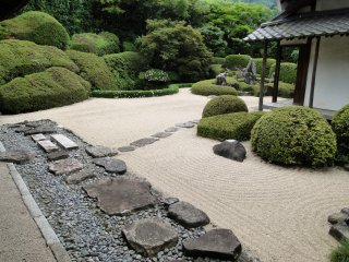 라이큐지 정원