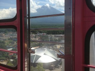 Fuji from the ferris wheel!