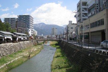 Одна из улиц Мацумото