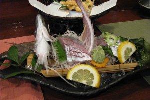 Рыбное блюдо (очень дорогое)