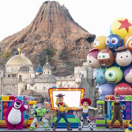 Khu vui chơi của Pixar tại Tokyo Disney Sea