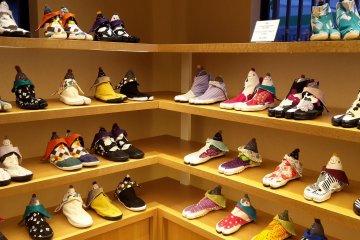 Sou Sou tabi shoe selection