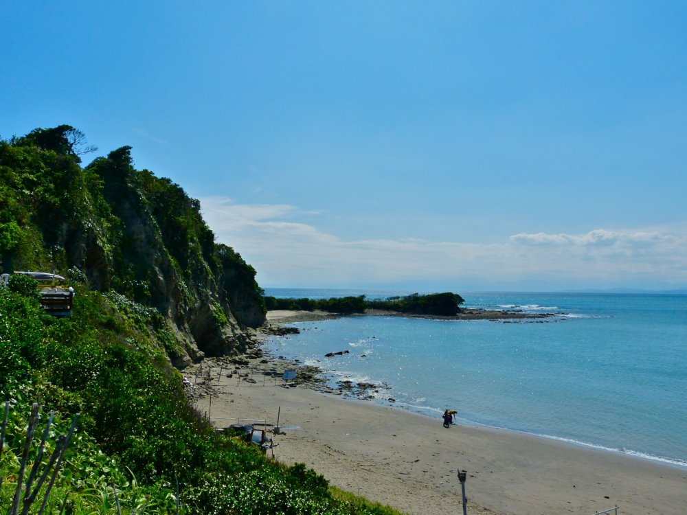 Choja-ga-saki Beach and Cape