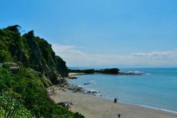 Choja-ga-saki Beach and Cape