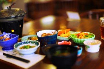 Japanese Breakfast in Wakamiya