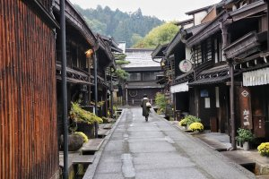 The traditional shopping streets of Kami and Shimo (upper and lower) Sannomachi