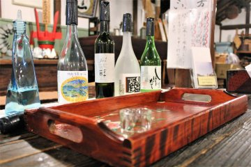 The tasting teaches you the variety of tastes sake can have.