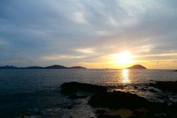 Shikanoshima along Hakata Bay