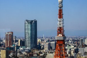 Roppongi Hills and the Tokyo Tower
