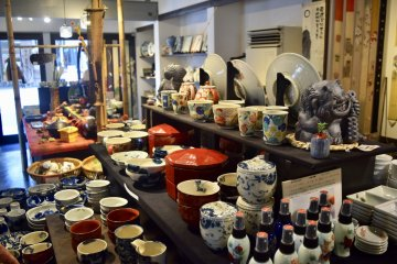 If it's made of porcelain, you'll find it in Arita