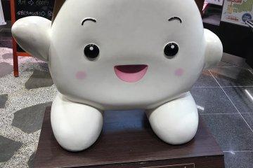The store's mascot