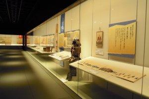 Intérieur du musée d'histoire.