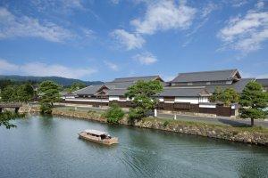 Musée d'histoire de Matsue, construit sur le modèle d'une résidence de samouraï.