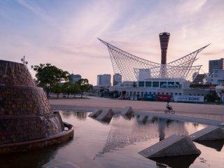 Taman ini memiliki banyak fasilitas air, area aspal yang luas, dan desain yang luar biasa