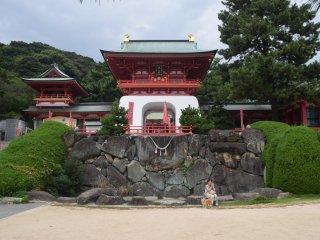 Colorful Akama Shrine