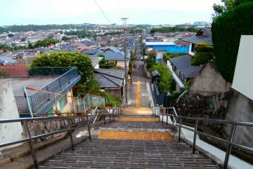 Following the trail of Whisper of the Heart at Seiseki-Sakuragaoka