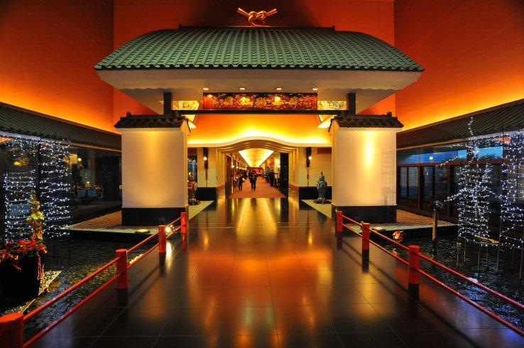 Eingangsbereich des Meguro Gajoen Ghibli