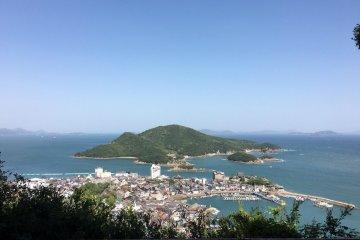 View over Tomonoura Bay