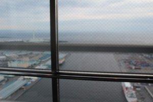 俯瞰窗外美景