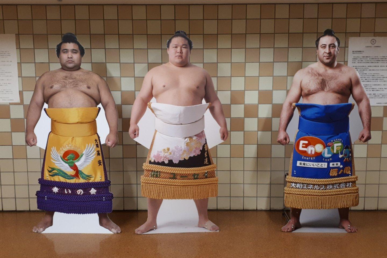 Takayasu, Goeido and Tochinoshin... kind of