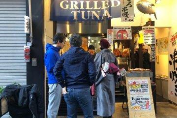 Grilled tuna shop