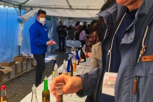 Umeshu Festa: Going for sample number 150!