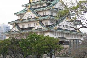 Замок. Осака